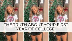 freshman year college life First Year Of College, Freshman Year, College Life, University Of Alabama, Dorm Hacks, Women, Freshman, Career, Student Life