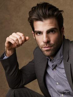 Zachary Quinto. I don't care if he's gay.