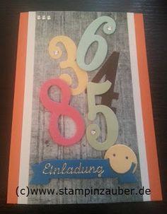 Einladungskarte zur Schuleinführung Silvi Provolija Unabh. Stampin' Up! Demonstratorin Jena Thüringen