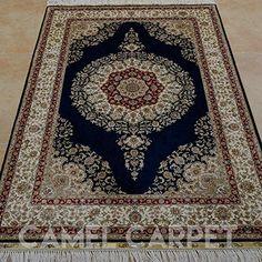 Camel Carpet best silk rug persian decoration silk Kerman... https://www.amazon.com/dp/B06XCT6ZVQ/ref=cm_sw_r_pi_dp_x_swZYyb26WBF4K