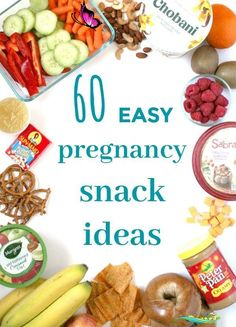 The big list of easy pregnancy snacks — The Organized Mom Life Easy pregnancy snack ideas for pregnant moms- the big list of snacks that are easy to make, fairly healthy, and don't contain any ingredients that are not safe for pregnant moms. #pregnancysnack #pregnancysnacks<br> 60+ snack ideas for pregnant mamas who are looking for something somewhat healthy, easy to make, and easy to take with you on the go. Pregnancy Lunches, Healthy Pregnancy Snacks, Pregnancy Nutrition, Pregnancy Tips, Early Pregnancy, Pregnancy Snack Ideas, Pregnancy Food List, Pregnancy Videos, Pregnancy Quotes