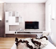 Small project - Bedrooms by Koj Design, via Behance must find the #furniture designer here for the #white #shelving #cabinet #design