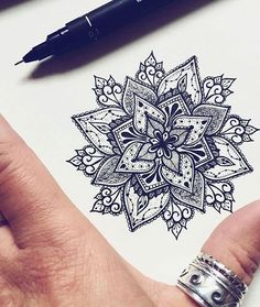 Beautiful model in drawing for mandala tattoo - Women& tattoo - Be inspired with this tatoo: Beautiful model in drawing for mandala tattoo. Find all the models, me -