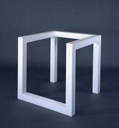 "Sol LeWitt, ""Incomplete Open Cube 8/5"" (1974)"