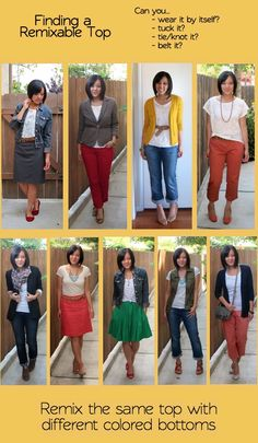 How to build a remixable wardrobe