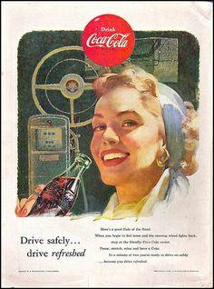 Looking Back ~ Vintage Coca-Cola, 1953
