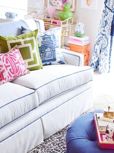 Preppy home inspiration