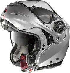 Les matériaux et équipements du casque modulable X-Lite X-1003 donnent clairement dans le haut-de-gamme