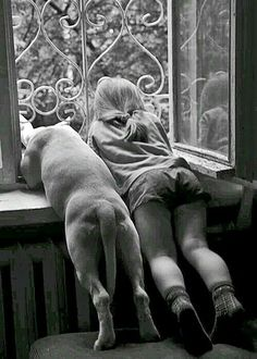"Best friends from the bottoms of their heart. Whoever said, ""Diamonds are a girls best friend. I Love Dogs, Puppy Love, Mans Best Friend, Best Friends, Friends Forever, Funny Friends, Dog Friends, Tier Fotos, Jolie Photo"