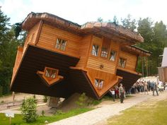 INCREDIBLE: This house was built upside down