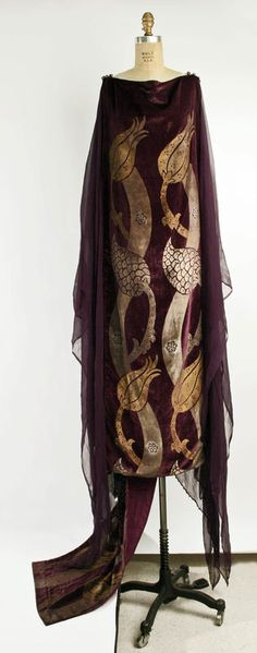 Tea Gown | Fortuny | c. 1920s