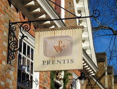 Prentis in Colonial Williamsburg.  There a lots of cute little shops on Duke of Gloucester Street that sell reproduction goods from jewelry to household items.