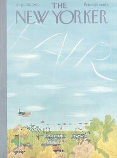 The New Yorker - Saturday, September 30, 1961 - Issue # 1911 - Vol. 37 - N° 33 - Cover by : Ilonka Karasz