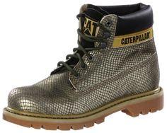 #CATERPILLAR #Bootie #Damen #gold
