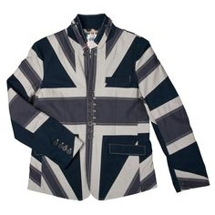 Looking for a slightly more Scottish Union Jack Jacket? We've got it covered and at half price! http://www.rhinorugby.com/uk/union-jack-jacket-navy