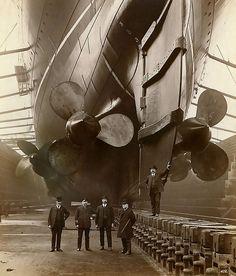 1910 ... RMS Lusitania