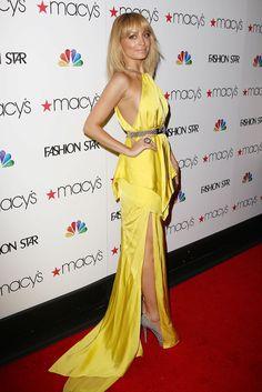 Nicole Richie's Spring 2012 Julien Macdonald Gown