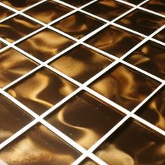 If you are looking for something a little more unusual the Nebular Brown 3D glass mosaic tiles certainly hit the spot!