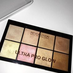 Have you seen our latest demo & swatching video on this new beauty? Head over to our YouTube channel to find the Ultra Pro Glow video... YouTube.com/makeuprevolution