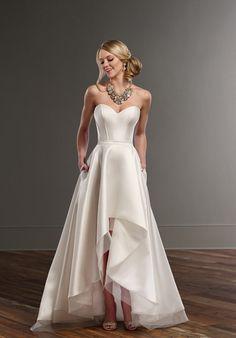 Martina Liana Carter+Sia A-Line Wedding Dress