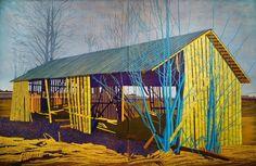 Elina Försti (Finnish, b. Puronkytö, Oil on canvas, 180 x 280 cm Illustration, Canvas, Artwork, Painting, Oil, Artists, Landscape, Paint, Tela
