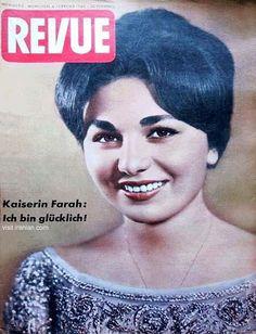Queen Farah Pahlavi of Iran