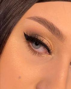 Brown Makeup Looks, Simple Makeup Looks, Makeup For Brown Eyes, Makeup Eye Looks, Makeup Looks Tutorial, Smokey Eye Makeup Tutorial, Eye Makeup Steps, Brown Eyeshadow Tutorial, Skin Makeup