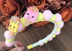 Fabric Flower Headbands, Fabric Flowers, Baby Hair Bows, Baby Headbands, Baby Girl Hair Accessories, Felt Hair Clips, Making Hair Bows, Diy Headband, Polymer Clay Crafts