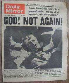 Daily Mirror, Thursday, June 6th, 1968
