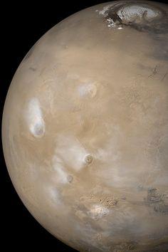 Mars, by the Mars Global Surveyor spacecraft