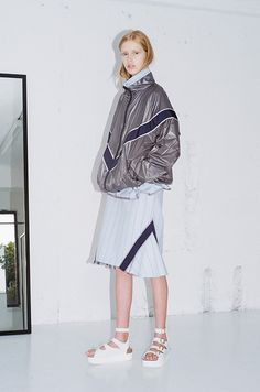 Bought: Sacai Luck skirt with flared sides at the International Gallery Beams