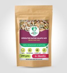 Sprouted Sathumaavu Health mix is a protein rich weight gaining powder for babies, toddlers, kids. Sprouting of the ingredients increases the nutrition. Porridge Recipes, Recipe For Mom, Organic Baby, Weight Gain, Baby Food Recipes, Food Hacks, Sprouts, Nutrition, Homemade