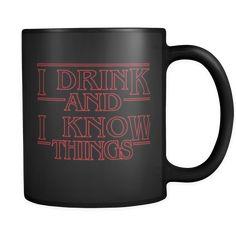 A Strange Drink - Coffee Mug – Moneyline Drink Coffee, Funny Coffee Mugs, Favorite Tv Shows, Cricut, Tea, Tableware, Crafts, Life, Dinnerware