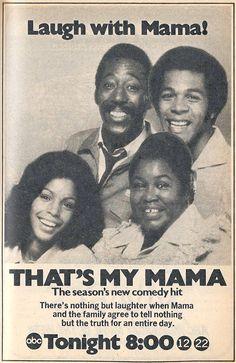 That's My Mama (1974-75, ABC) starring Clifton Davis & Theresa Merritt