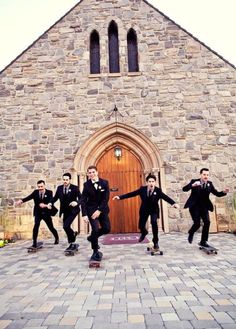 20 Cool Ideas For A Skateboard Themed Wedding