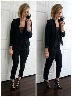 A Day in the Life: Black Dressy
