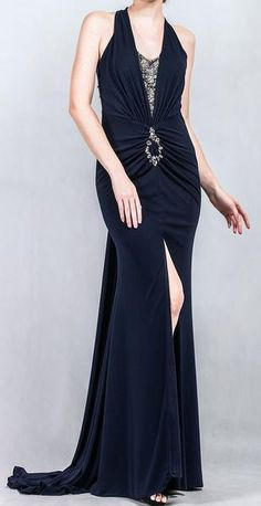Ellie Mei Evening Gown.Ball Gown Wholesale Items.EM2005  #elliemeidesign #fashiondress #blackdress #prom #eveninggown #slipinfrontdress #sexyblack #model #slimfitted #freeshippinggown