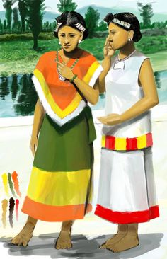 Aztec Women Part 4 by Kamazotz