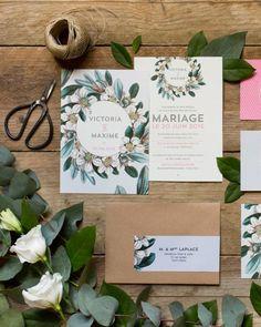 faire-part mariage champetre