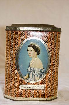 1953 Coronation of Queen Elizabeth Tin