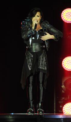 NOVEMBER 28th - Demi Lovato performing at The O2 Arena in London, UK.
