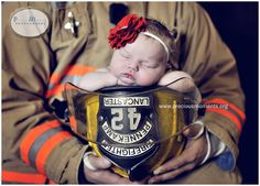 Cute for a baby with a firefighter parent!