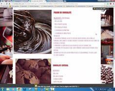 WEB CHOCOLATE Y CAFE