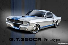 1966 Mustang Fastback Shelby G.T.350CR