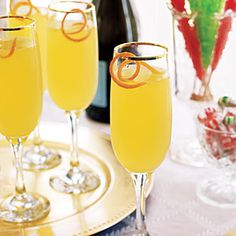 Toast the Holiday With Festive Drinks | Citrus Champagne Cocktails | AllYou.com