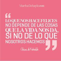 Las frases de Martha | Martha Debayle