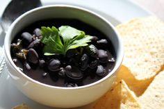 Frijoles negros (black beans) Cocina cubana