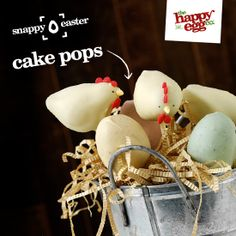 Happy hen and egg pops