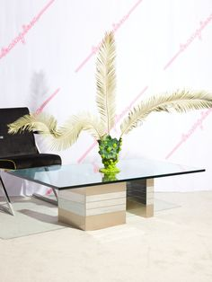 Chrome Base Coffee Table – Coming Soon 1970s Furniture, Vintage Furniture, Paul Evans, Heavy And Light, Chrome, Table Decorations, Coffee, Glass, Rooms