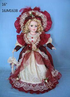 """Jmisa 16"""" Porcelain Victoria Doll jmisa,http://www.amazon.com/dp/B00FW1QT16/ref=cm_sw_r_pi_dp_iQV2sb1PA99CF7KZ"""